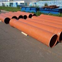 Труба ПВХ для наружной канализации d110х3,2х6000