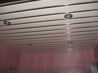 Алюминиевый реечный подвесной потолок в Нижнем Новгороде