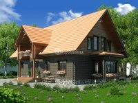 Проект дома «Пушкин» 16.4 х 13.5