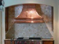 Медь. Медные зонты, вытяжки, элементы каминов