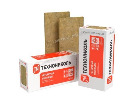Теплоизоляционные плиты ТЕХНОВЕНТ СТАНДАРТ 1200х600х50 мм (0.216 куб.м)