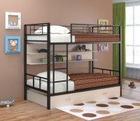 Двухъярусная кровать Севилья 2 ПЯ (Цвет-Коричневый/Дуб)