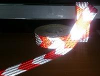 Светоотражающие ленты для  парковочного оборудования, 50 метров
