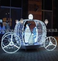 Светодиодные фигуры 3d, акриловые фигуры, новогодний декор для улиц