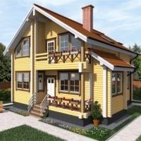Услуги по проектированию домов из клееного бруса