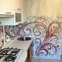 Мозаичное панно для кухни