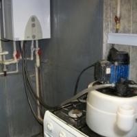Промывка от накипи газовой колонки.