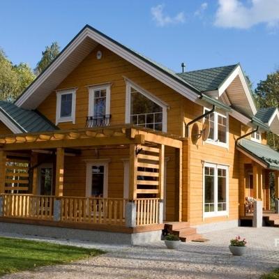 Возможности строительства современных домов из профилированного бруса