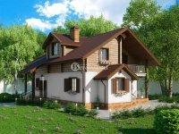 Проект дома «Пирогов» 13.7 х 9.2