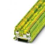 Клемма защитного провода - PT 1,5/S-PE - 3208139 Phoenix contact