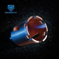 Алмазная коронка для подрозетников DIAMOND HIT 72мм с микроударом