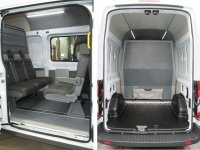 Грузопассажирский автомобиль 9 мест с трансформацией в грузовой фургон Форд Транзит