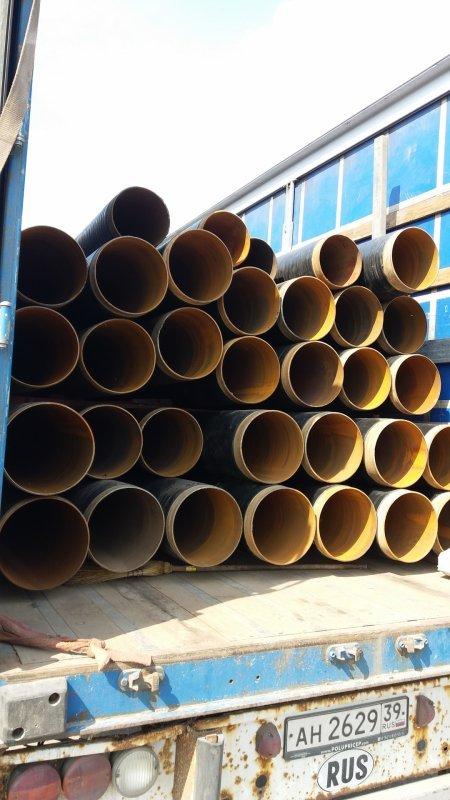 Трубы стальные электросварные 377мм в ВУС изоляции. НАДЕЖНО!