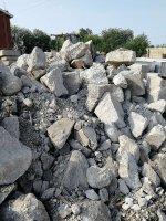 Лом, бой кирпича, бетона, асфальта, смеси вторичные из дорожной насыпи