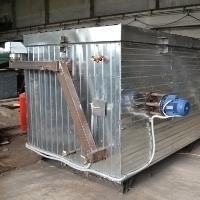Оборудование для получения термодревесины  с  установкой  в помещении «Энергия ТМ-мини».