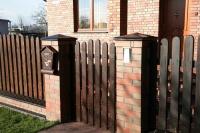 Декоративные элементы для столбов забора, окон: колпаки, подоконники, парапетная плитка ZG Klinker