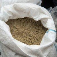 песок речной(сеяный)  в мешке 40кг