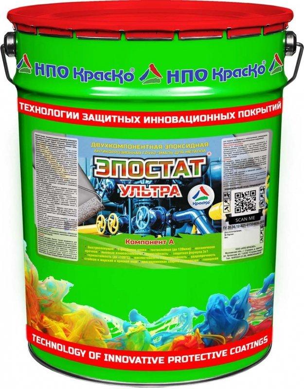 Эпостат Ультра — эпоксидная грунт-эмаль для чёрных металлов, 24кг