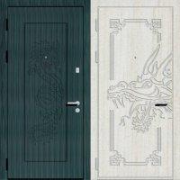 Дверь металлическая по индивидуальному дизайну