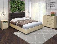 Кровать из экокожи Promtex Orient Rodi Sonte