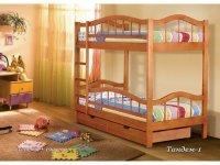 Детская двухъярусная кровать Тандем 1