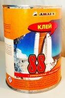 Клей 88 М-1л.(0,88кг) - универсальный, водостойкий, для склеивания холодным способом