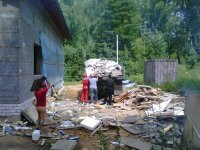 Вывоз строительного мусора, грунта. Грузчики
