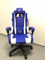 Геймерское компьютерное кресло с вибромассажером