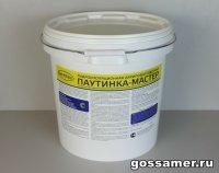 Гидроизоляционная акриловая мастика ПАУТИНКА-МАСТЕР