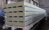 Стеновые сэндвич панели с минеральной ватой от 50 до 250 мм