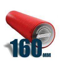 Труба D-160мм двустенная жесткая (SN8)