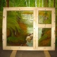 Деревянные окна марки ОС, ОР, ОРУ, террасные рамы