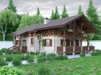 Проект дома «Чехов» 11.5 х 15.6