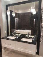 Столешницы для ванных комнат из натурального камня