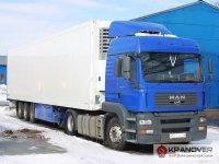 Аренда тентованного грузового авто 20 т