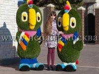 Топиарные декоративные фигуры из искусственной травы