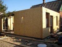 Строим каркасные веранды, террасы, гаражи и другие пристройки