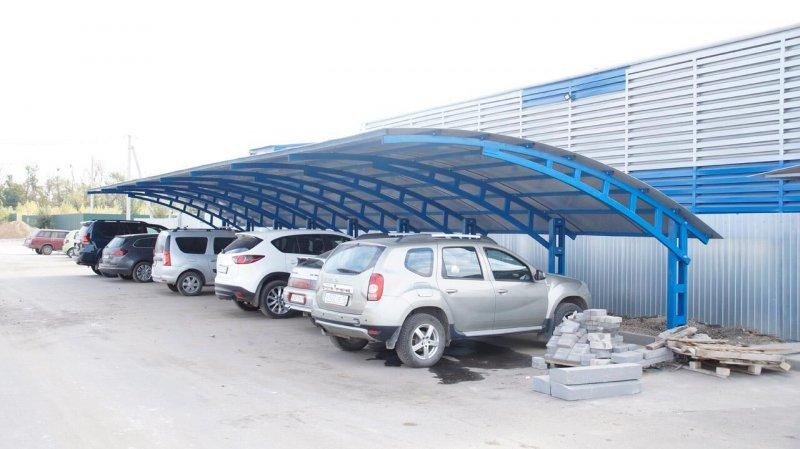 Производим практичные уличные навесы для множества мест применения