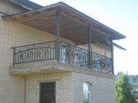 Балконы Перила  с элементами художественной  ковки