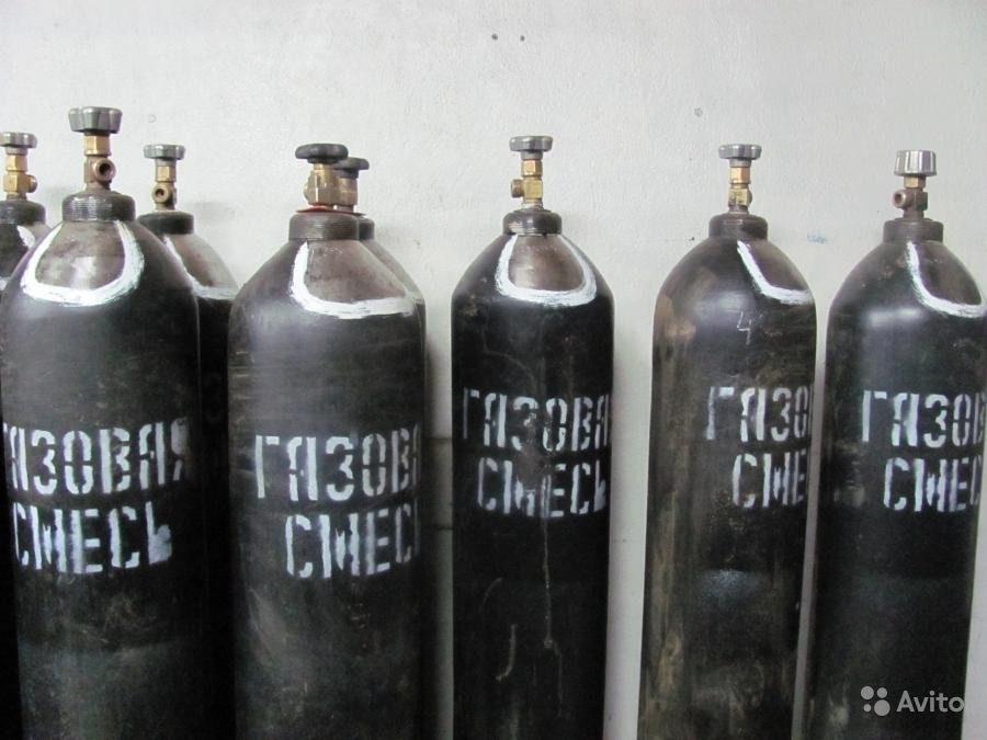 Баллон для газовой смеси 40л. ГОСТ 949-73