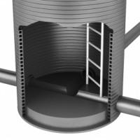 Лестница-стремянка С-3 (С1-02) для водопроводных колодцев по серии ТПР 901-09-11.84