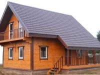 Дом под ключ  с фундаментом всего за  1800000 рублей