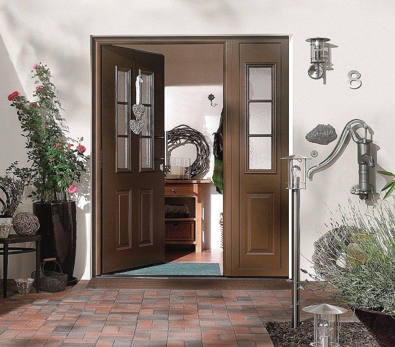 Входная дверь Hormann TPS 400