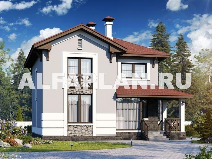 """Проект дома 527A """"Собственный рай"""" - дом с компактным планом и отличной планировкой"""