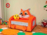 Лисичка детский диван
