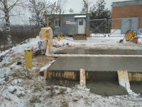 Строительство фундаментов, перекрытия.