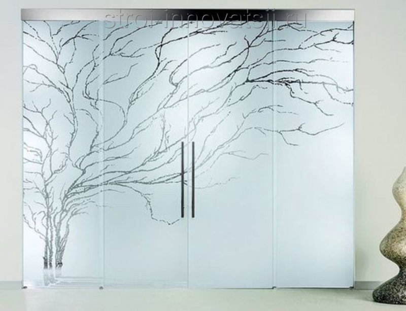 Рисунки на стекле на заказ