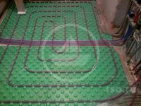 Монтаж систем отопления в загородных домах