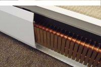 Система отопления Теплый плинтус водяной и электрический