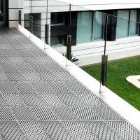 Уличное модульное покрытие для террас city